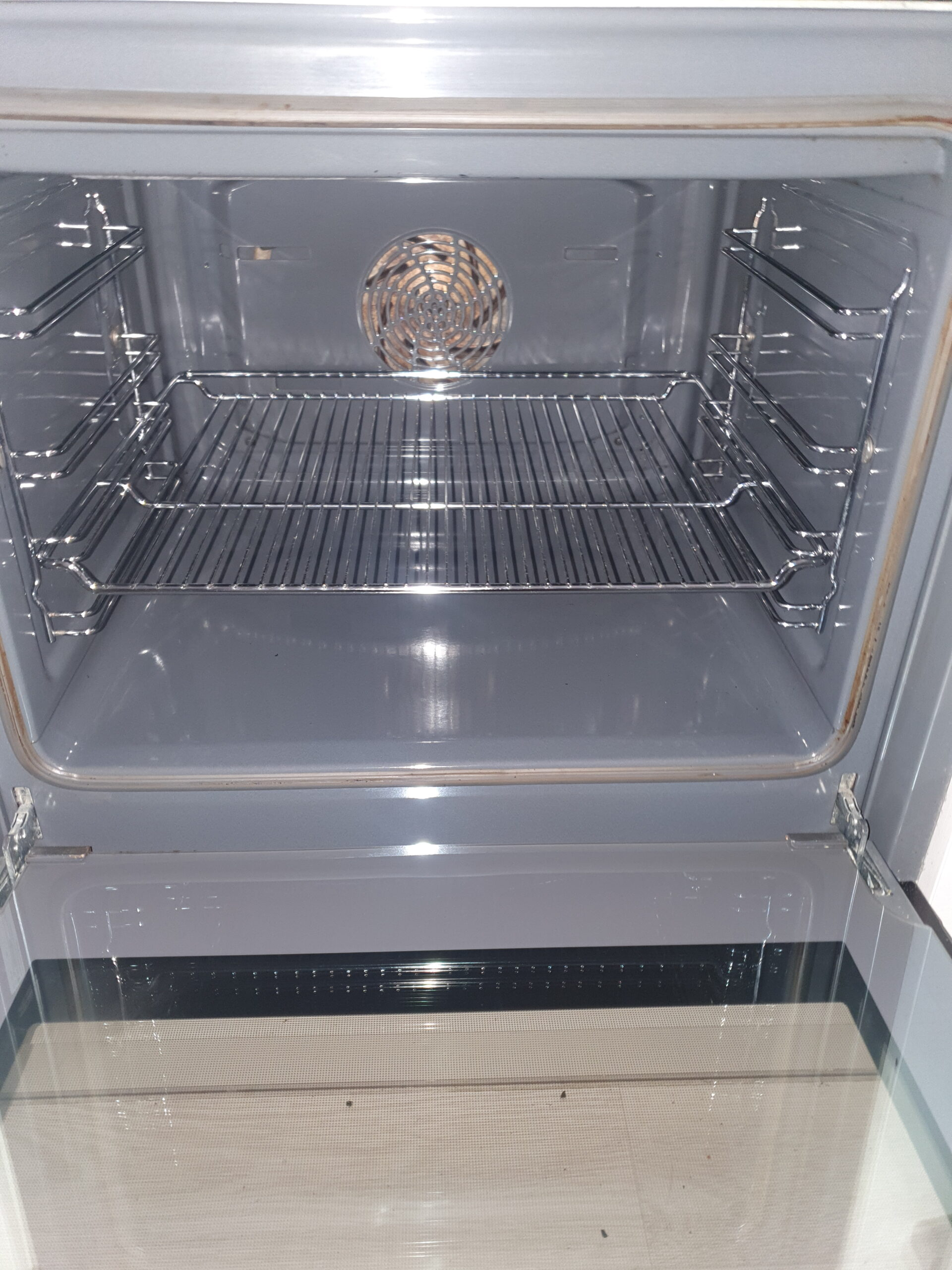 clean oven